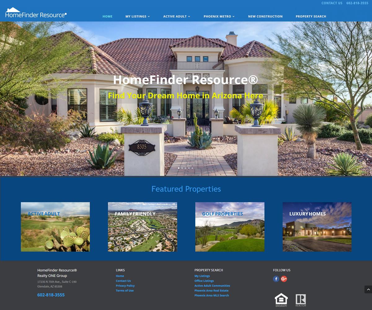 HomeFinder Resource